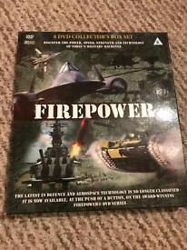 Firepower 8 dvd boxset