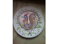 Anfora Agueda Hand Painted Portugal 87 plate
