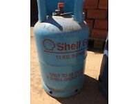 Barbeque, Barbecue, BBQ, Gas Bottles Shell, Butane.