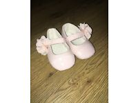 Girls baby shoes