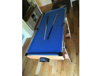 5ft Pool and Air Hocky Table
