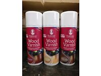 TABLEAU WOOD VARNISH IN E DIFFERENT COLOURS (LIGHT OAK, DARK OAK & RED MAHOGANY) QUICK DRYING WITH.