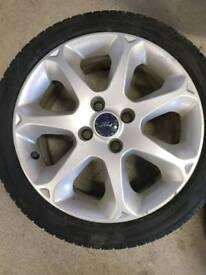 2 16 inch fiesta titanium wheels