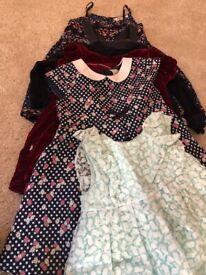 Girls dresses (bundle 6) ages 2-3