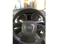 Audi A6 semi automatic 78000miles silver 3 keys and full service history