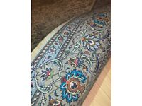 Handmade large pure wool and silk persian Kashan carpet/rug excellent condition