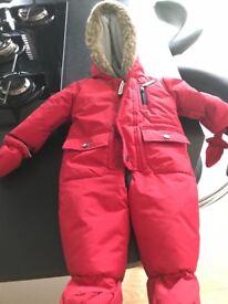 Jasper Conran, Junior J Snowsuit/pram suit -excellent condition