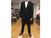 """Austin Reed """"AR Red"""" Two Piece Italian Wool Suit - Almost Brand New"""