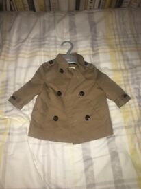 Baby's smart coat river island brand new wore once 0-3 months