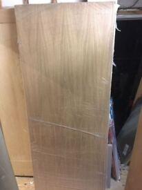 White Oak Veneer Internal Office Door 826mm x 2040 x 40mm NEW