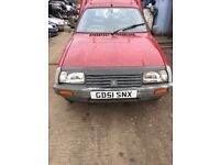 2002 Citreon CIS Champ 600D 1.9L Van Diesel Red BREAKING FOR SPARES