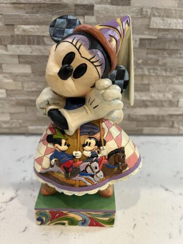 "Jim Shore Disney ""Happily Ever After"" Princess Minnie #4038497 W/Box SIGNED!!"