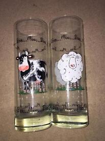 Two glassess