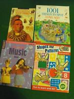 Kids' picture books, chapter books, and learning books