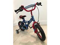 Child's / kids bike - Blue Spider-Man