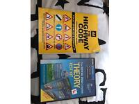 Theory test DVD and book
