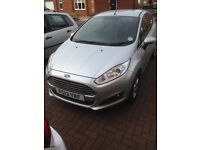 Ford Fiesta Zetec Ecoboost 1.0 litre 3 door Silver low mileage and nil road tax