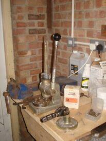 Jeweller's Equipment/Workshop for sale