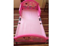 Disney cosy time Mini mouse toddler bed
