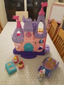 Fisher Price Little People Disney Castle and Carriage