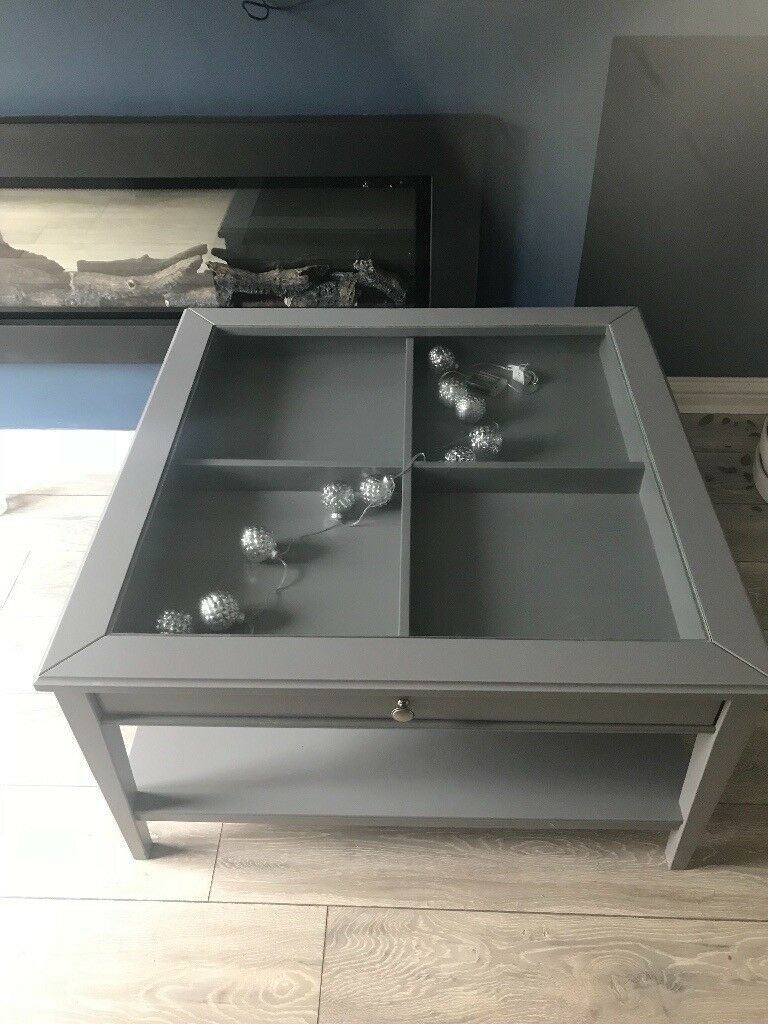 Ikea Liatorp Grey Glass Square Coffee Table In Redcar North Yorkshire Gumtree