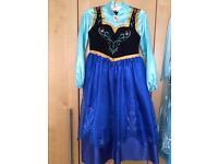 Anna Frozen Dress Age 7-8yrs Disney Store original