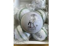 HS Adult Cricket balls Mens Leather red Match Balls Grade A Hand stitched