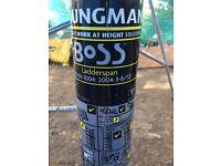 Boss Youngman Alumnium scaffold tower 6.2M X 1.8M