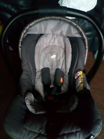 Joie infant carseat