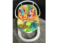 Fisher price foldable baby bouncer seat