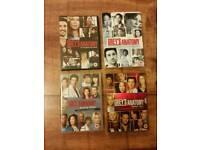 Greys Anatomy box sets seasons 1 - 4