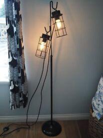 Black Industrial Metal Lamp