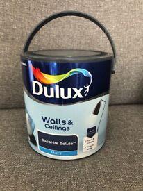 Dulux Sapphire Salute Matt paint