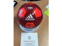 Manchester United Game ball signed by MUFC players