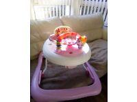 Pink baby walker. FREE