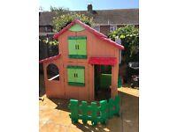 Smoby 2 story playhouse