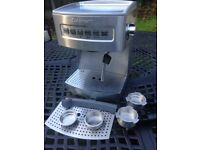 Cuisinart coffee machine - spares or repair. Manual espresso maker with accessories