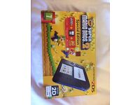 Nintendo 2DS Super Mario Bros 2 special edition, boxed