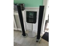 Bang & olufsen beolab 6000 speakers & beosound 3200 cd with harddrive