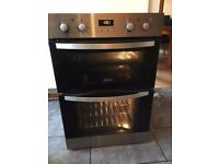 Zanussi double duel fan assisted intergrated tower unit oven only6 mth old
