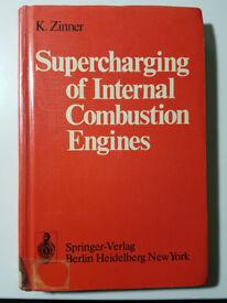 Supercharging of internal combustion engine - K. Zinner