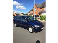2005 (54) Vauxhall zafira 1.6 petrol,7 seater , 10 Months MOT
