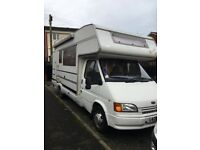 Ford transit 6/7 berth Motorhome low mileage recent internal refit