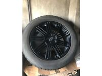 18 inch TOYOTA ALLOYS 18 inch X4 VGC £325 WITH matching PIRELLI all weather TYRES