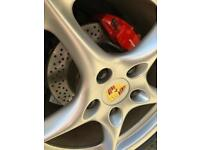76mm Alloy Wheel Centres Suit 996 997 911 Cayman Cayenne 986 987 Boxster