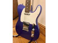 2016 Fender American Standard Telecaster - Ocean Blue Metallic - 'As New' Condition