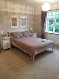 John Lewis Wooden Double Bed