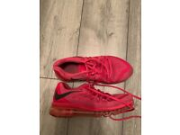 Ladies Nike Pink Air Max Trainers