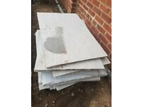 Marshalls Indian Sandstone multi grey slabs Paving Stone
