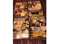 Collection of Kerrang Magazines